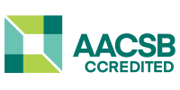 Logo AACSB International - The Association to Advance Collegiate Schools of Business